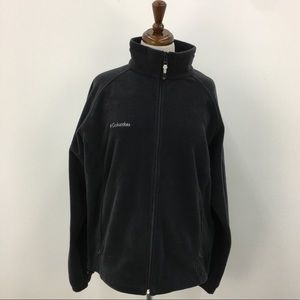 Columbia Black Fleece Jacket